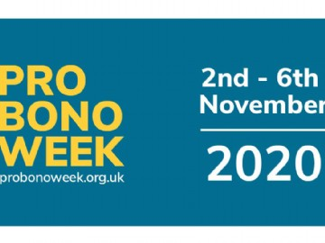 2 - 6th November 2020 is the 19th Pro Bono Week